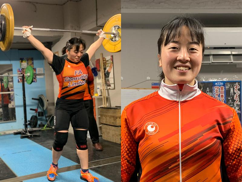安藤 美希子 選手 ウエイトリフティング 女子58kg級