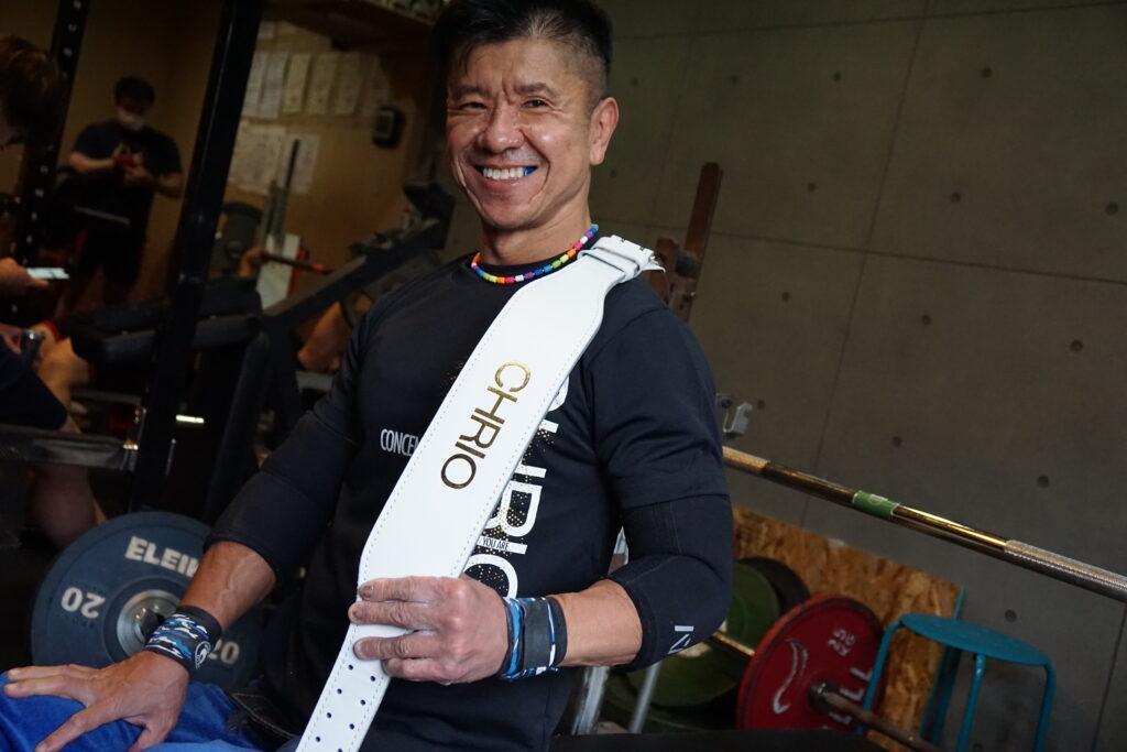 パラ・パワーリフティング TOKYO2020パラリンピック大会出場 三浦浩選手
